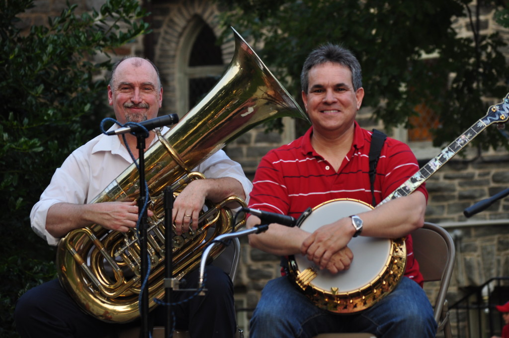 Stephen and Friend (on Tuba)